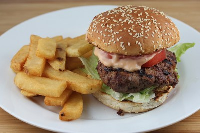 Classic Grilled Hamburger Recipe