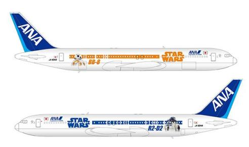 Los tres jets de Star Wars que se presentaron