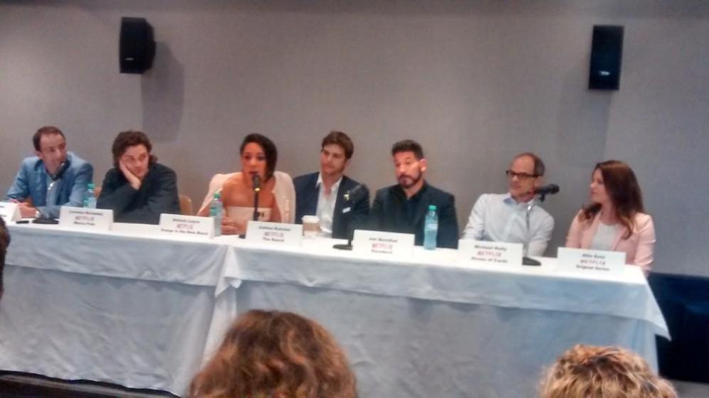 Cultura Geek Netflix Conferencia de Prensa Argentina 7