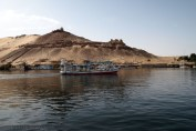 Boat on Nile, Felucca ride on the Nile