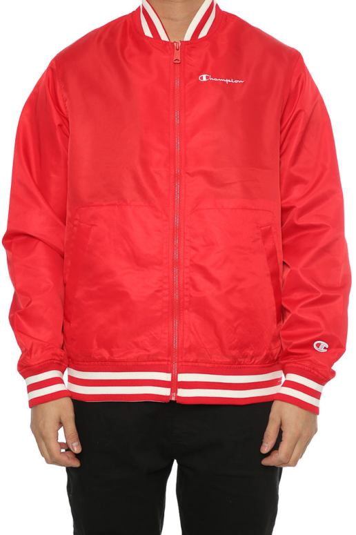 Champion Lifestyle Jacket Red – Culture Kings