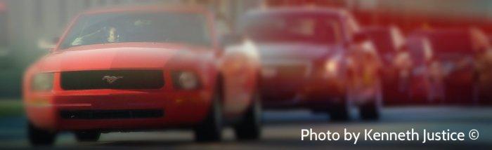 mustang blur