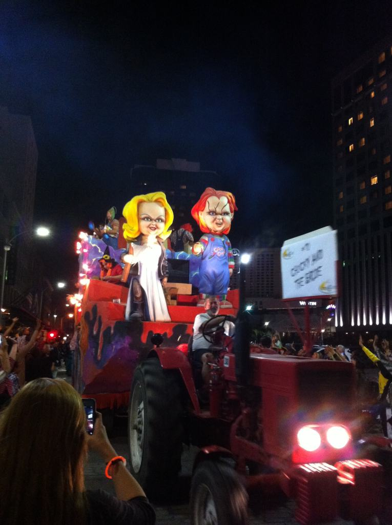 Halloween parade in New Orleans