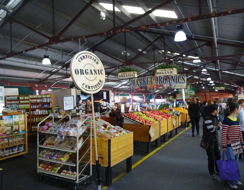 Organic Produce at Queen Victoria Market, Melbourne