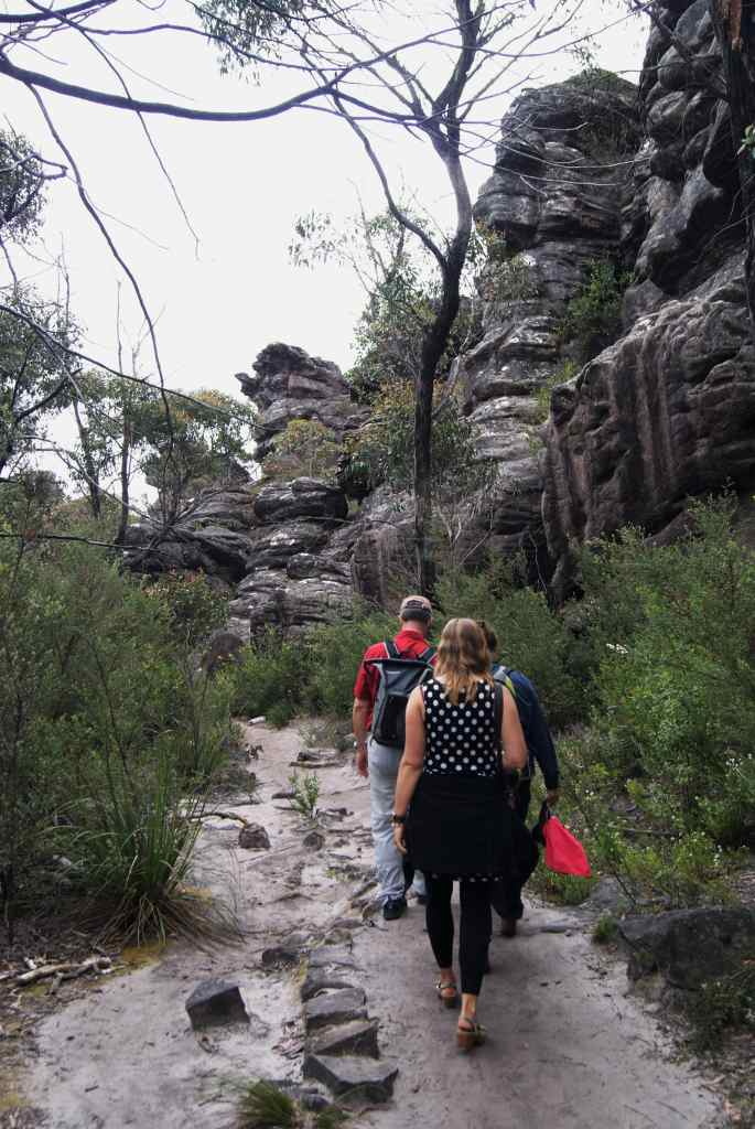 Hiking to the Pinnacle, Grampians National Park, Australia