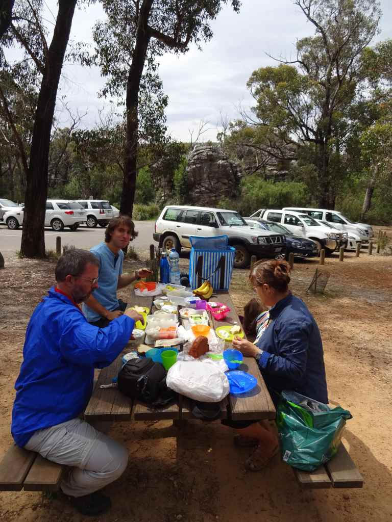 Picnic at Sundial Car Park, The Grampians, Australia