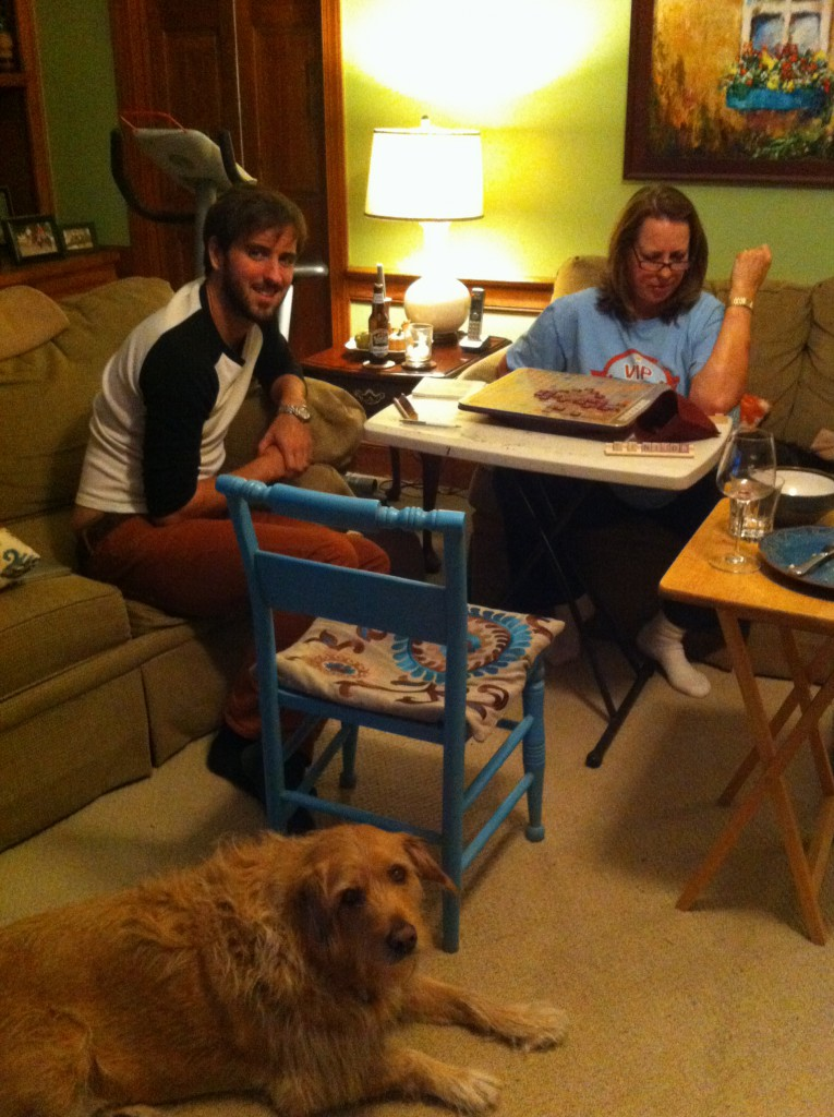 Playing board games in the company of family: what could possibly be better?