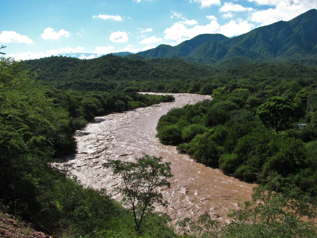 Driving north from Salta, the scenery gradually changes from lush and green to barren and VERY colorful