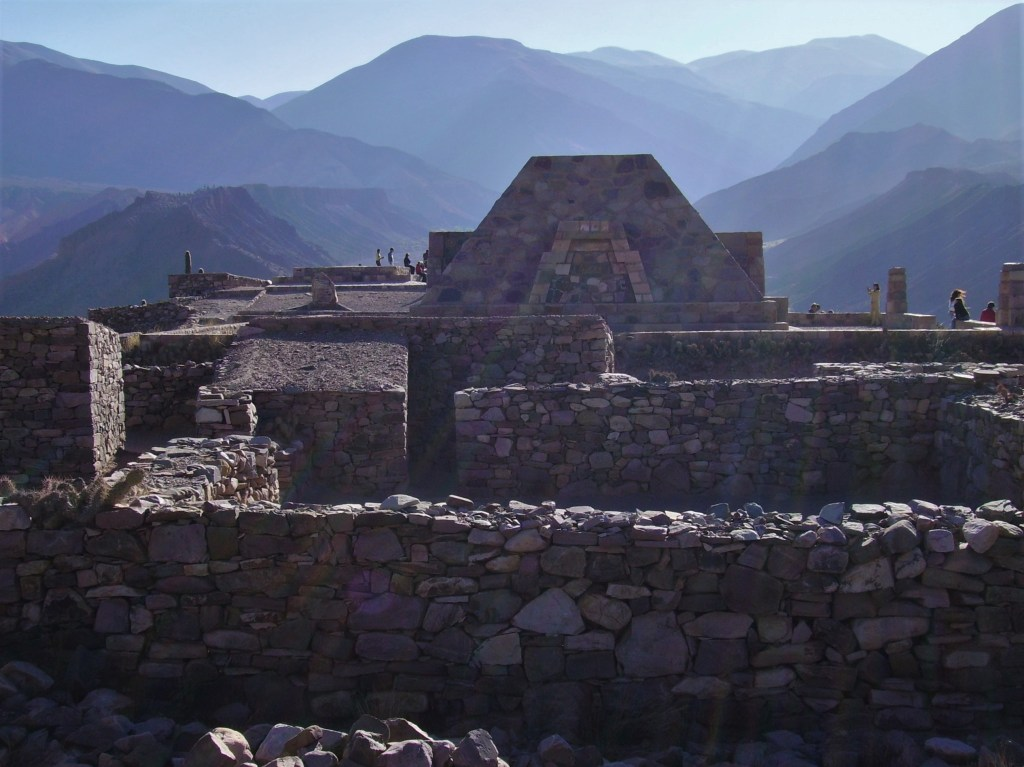 Pucará de Tilcara, the only publicly accessible archeological site in the Quebrada de Humahuaca