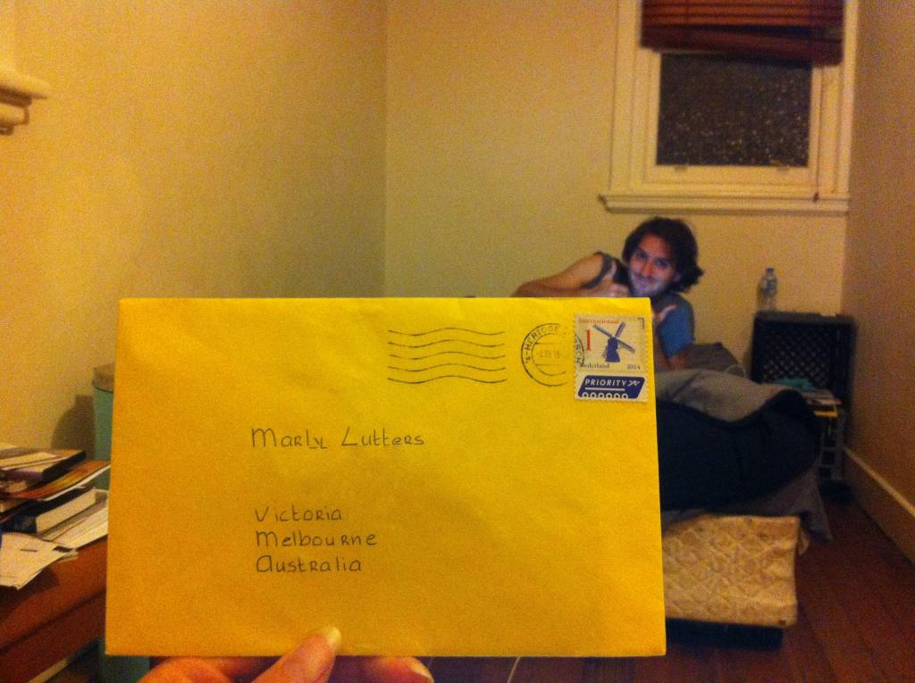 Receiving regular mail: What makes it so exciting?