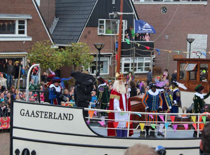 National arrival of Sinterklaas in Meppel, 2015