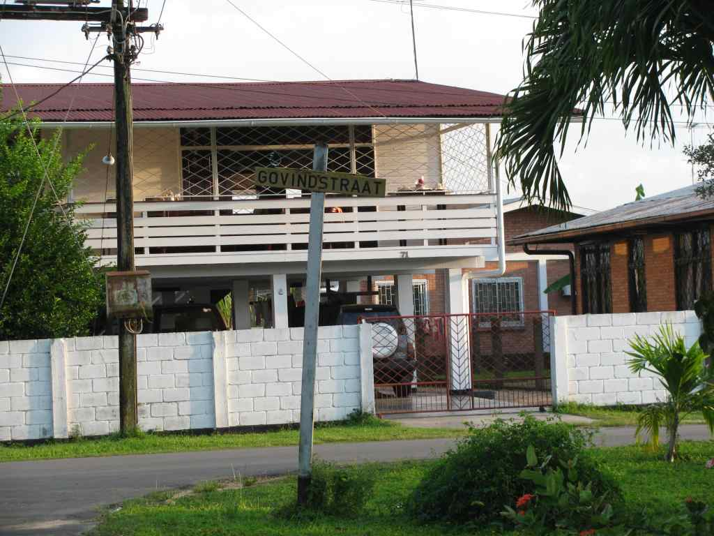 Another family home in Paramaribo, Suriname