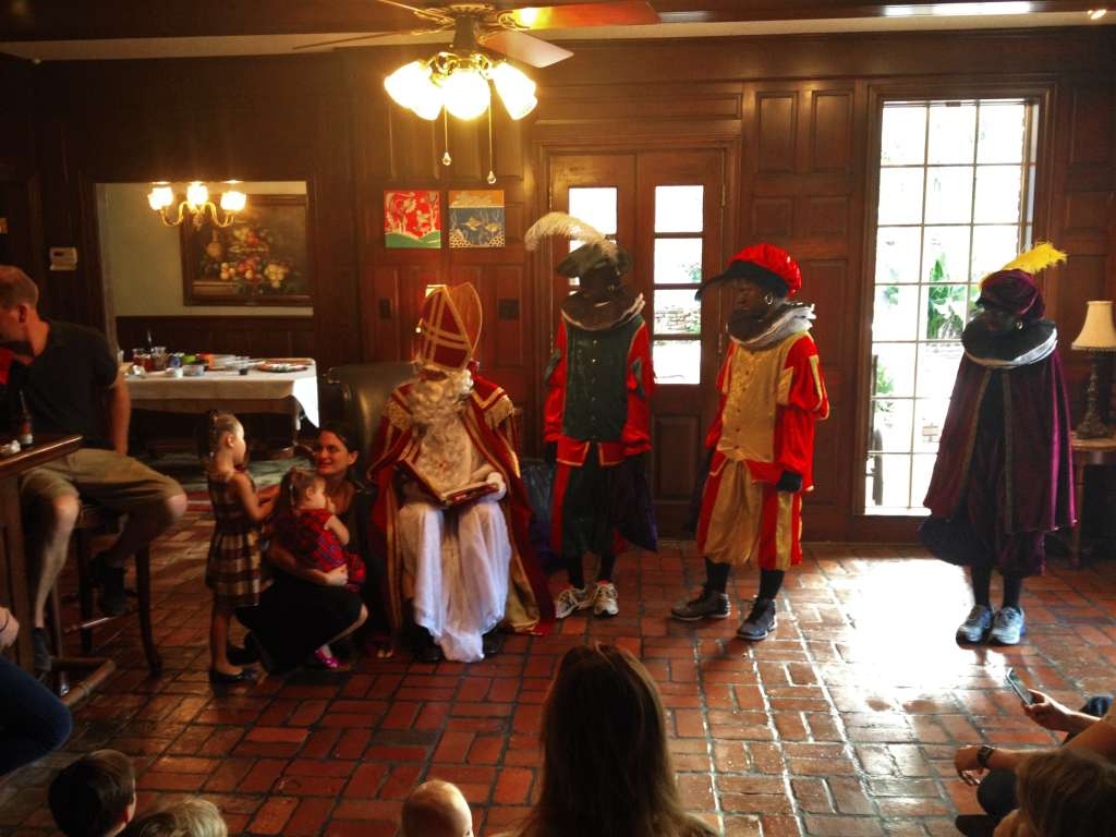 Sinterklaas and Zwarte Pieten in New Orleans