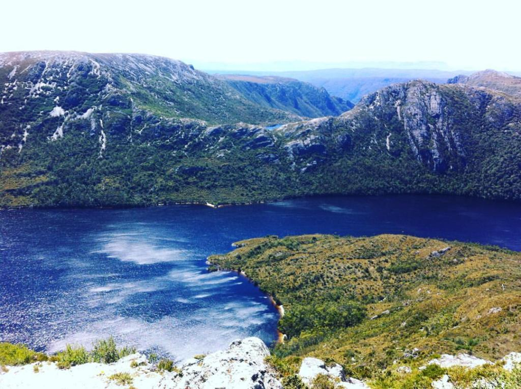 Dove Lake from Marion's Lookout, Cradle Mountain - Lake St Clair National Park, Tasmania