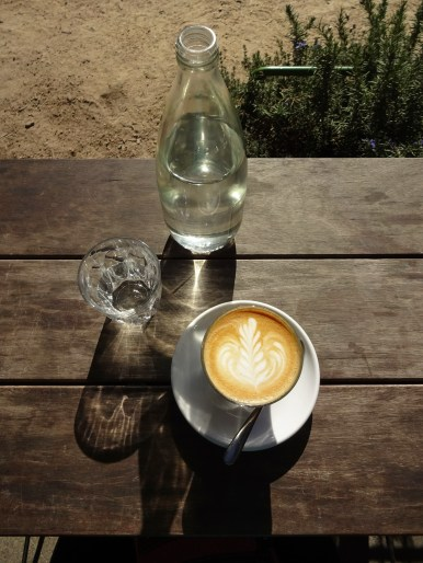 Coffee at Green Park Dining, North Carlton, Melbourne