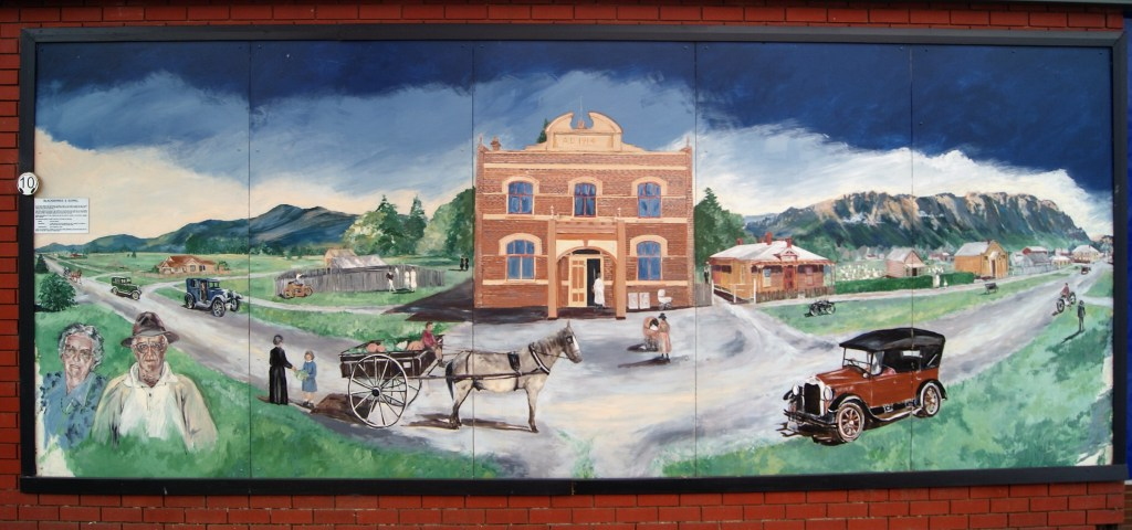 Sheffield, City of Murals, Tasmania