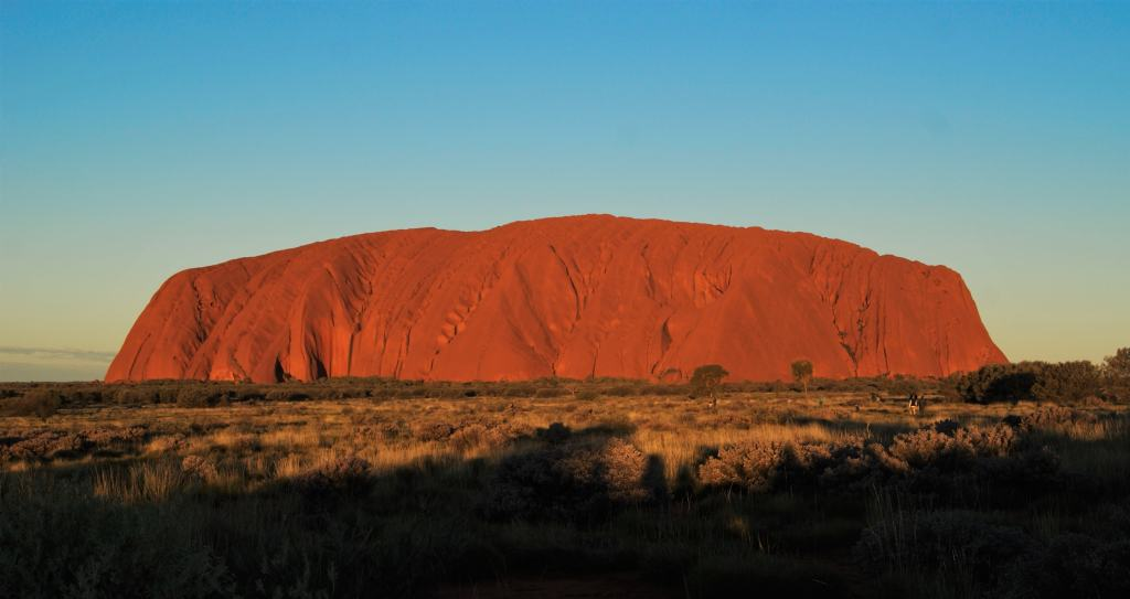 Sunset at Uluru National Park, Northern Territory