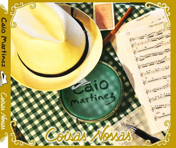 sambista caio martinez lança o cd coisas nossas