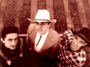 Ao lado de Frank Jorge e Júlio Renny no Cowboys Esperituais
