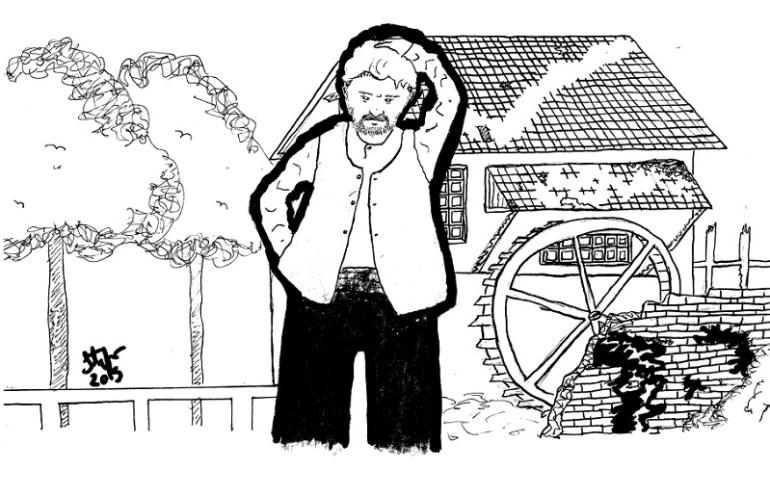 Gardone - literatura gaúcha - desenho de Stefano Pfitscher