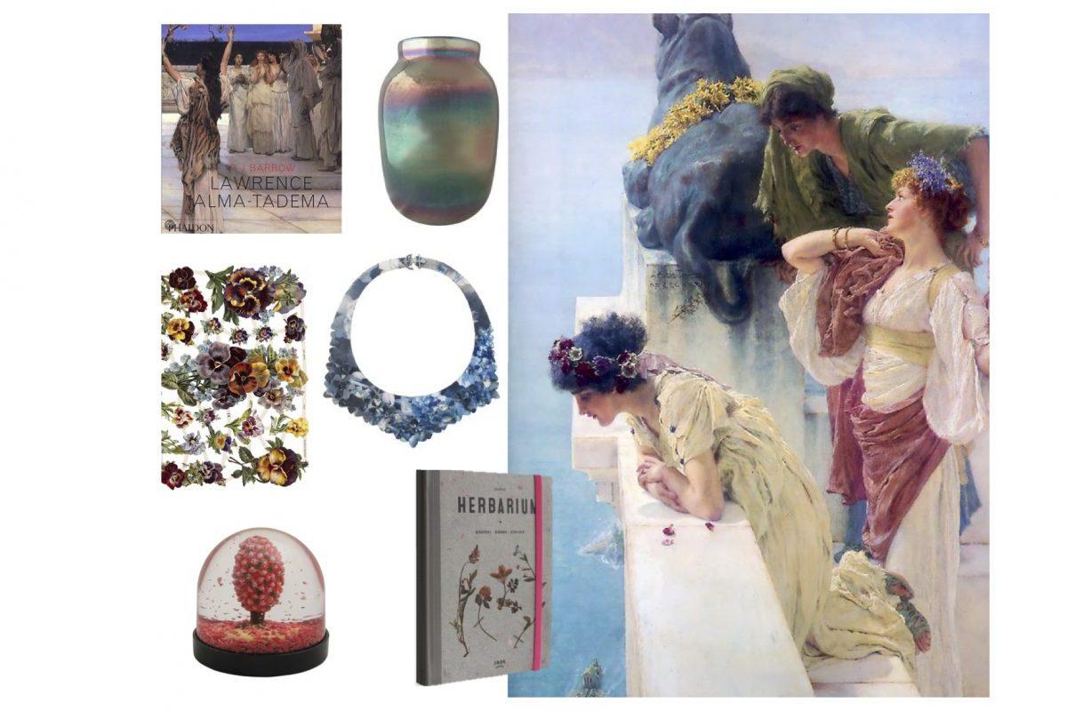 Romantiek in de Museumwinkel. Alma Tadema