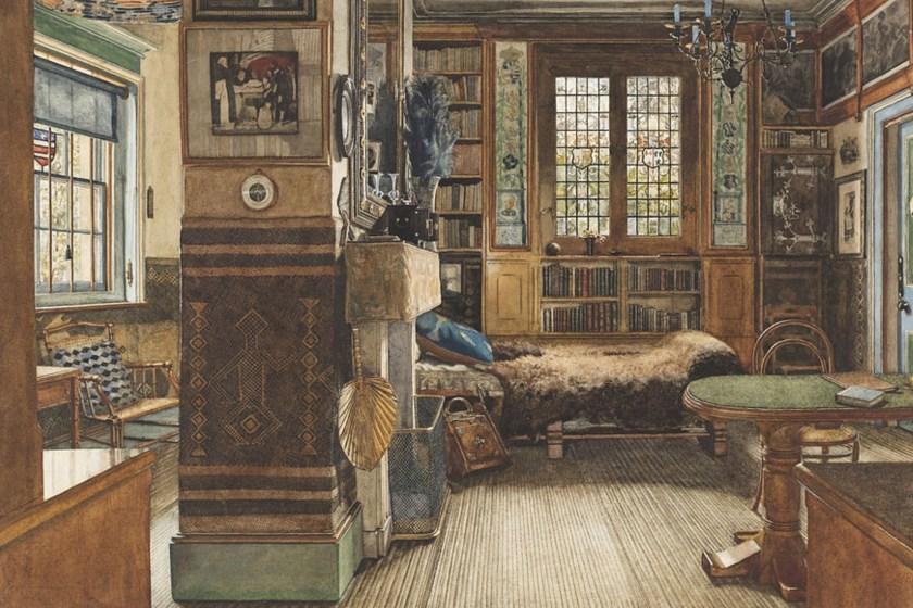 Het Woongeluk van Alma Tadema. Anna Alma Tadema | Library Townshend House Google Art