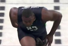 Chris jones cock falls out while running 1