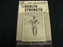 Health and Strength vintage muscle beefcake