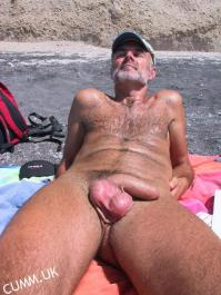 big cock at the beach