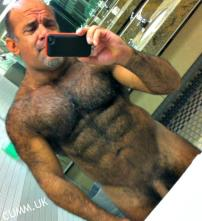 cock selfie daddy Bear Chest