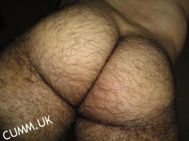 hairy arse mature bubble butt