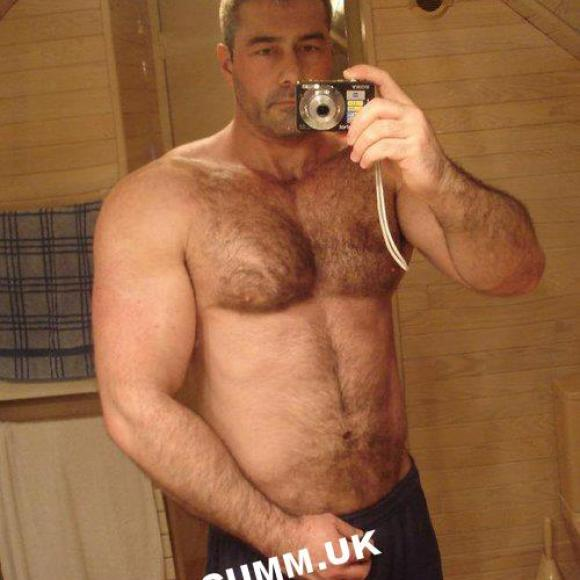 hairy chest daddy