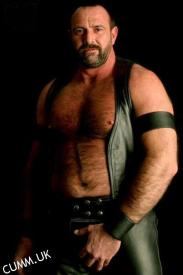 leather daddy hung bulge