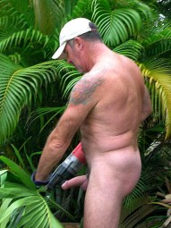 mature-gardner-erect-outdoors