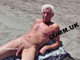 sexy older bloke shows his mature naked huge dick