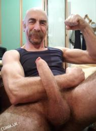 pedro silver daddy hung erect