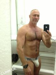 silver daddy-bulge