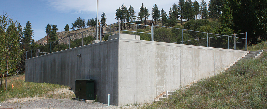 Water Retaining Structures Service : Concrete water reservoirs retaining structures