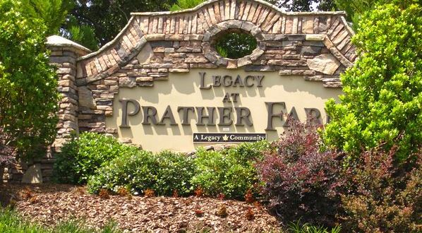 Cumming GA Community Of Legacy At Prather Farm