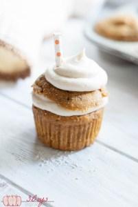 Pumpkin Whoopie Pie Cupcakes