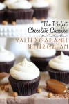 Chocolate Cupcakes with Salted Caramel Buttercream
