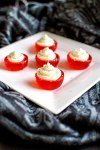 Fireball Jello Shot Cupcakes