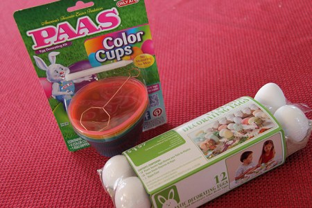 Plastic decorating eggs
