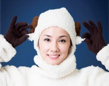 羊の着ぐるみをきた吉田羊