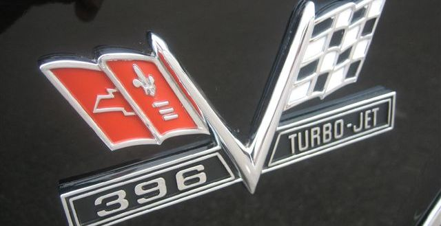 Chevelle SS 396 emblem