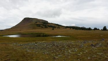 View from Continental Divide Trail near Green Lake