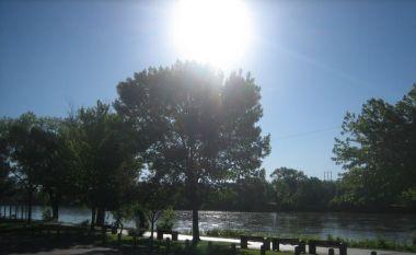 Des Moines River in Van Buren County