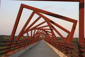 High Trestle Bridge near Madrid