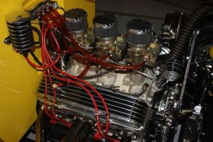 traditional small block Chevy power
