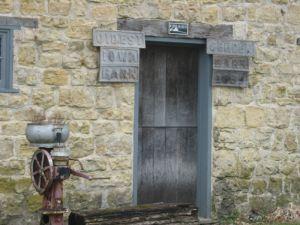 Oldest Iowa Barn-St. Donatus